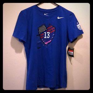 New ALEX MORGAN #13 USWNT Soccer T